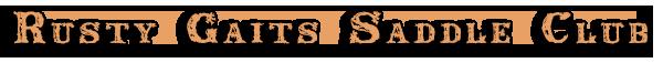 Rusty Gaits Saddle Club Logo